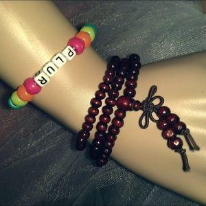 TIBETAN PRAYER BEADS - Buddhist Necklace Bracelet